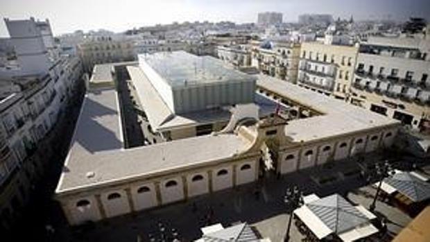 Una planta fotovoltaica de autoconsumo en el Mercado Central de Cádiz