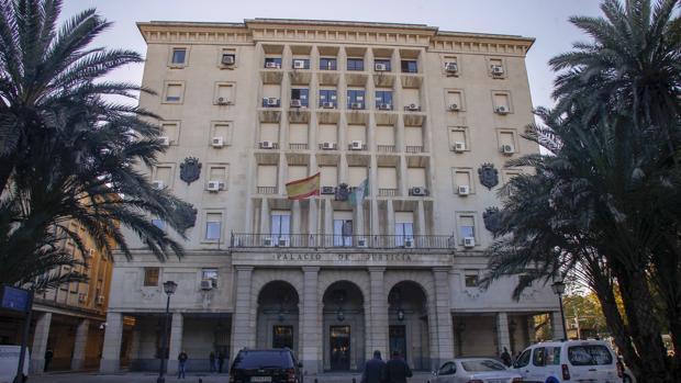 Palacio de Justicia que acoge la Audiencia de Sevilla