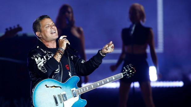 El cantante Alejandro Sanz será uno de los ausentes