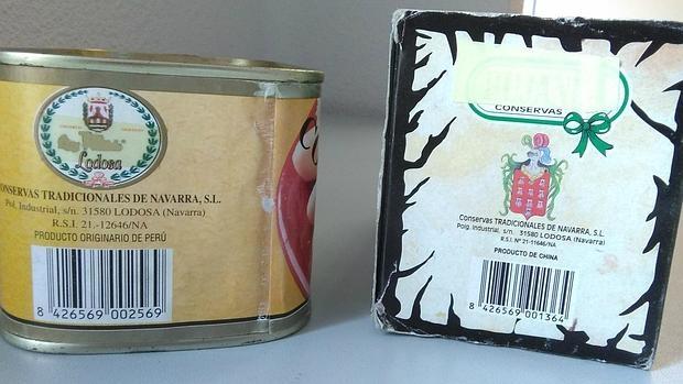 Flamantes latas de conservas de Navarra pero con espárragos peruanos y chinos