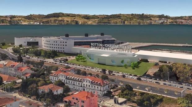 Imagen del Botton-Champalimaud Pancreatic Center que abrirá sus puertas el 5 de octubre de 2020