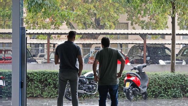 Lluvia en Valencia