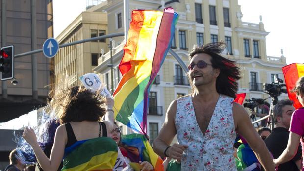 Manifestación del día del Orgullo Gay